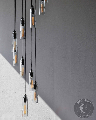 Cascading Chandelier 12 Fixture Light