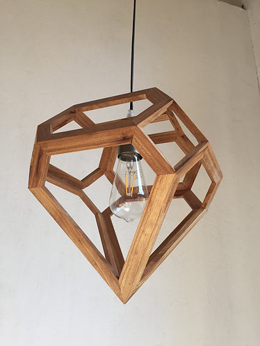 Pendant Lamp in European Elm