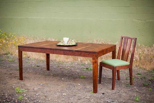 Western Walnut Dining Table