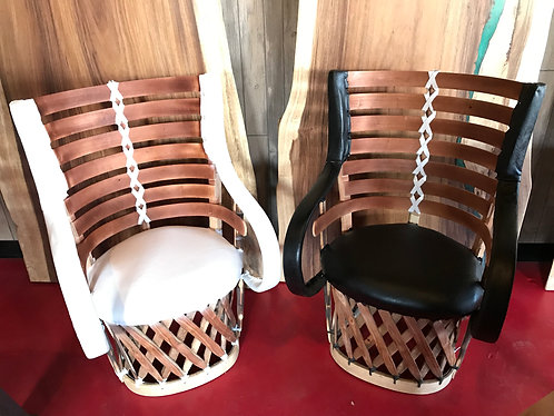 Equipale Leather Chairs w/armrest