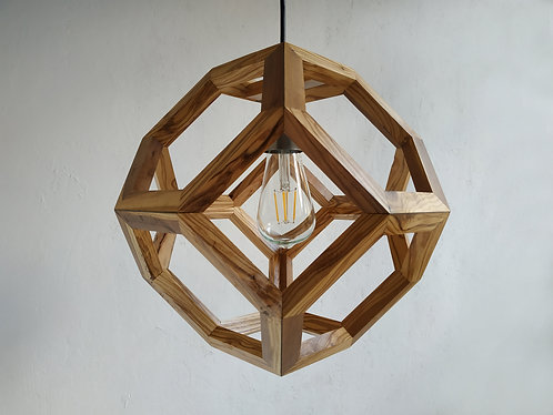 Olive Wood Truncated Octahedron