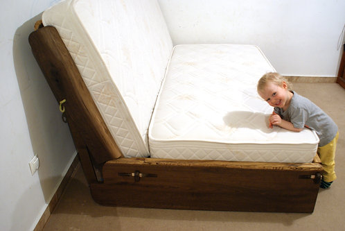 Live Edge Sofa Bed - Any Size
