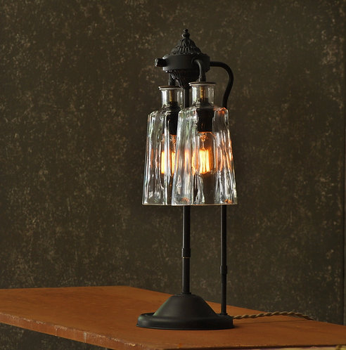 The Solano Rustic Industrial Table Lamp