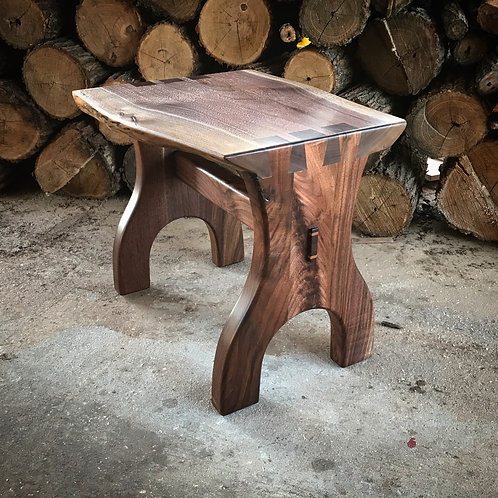 Dovetail Walnut Bench