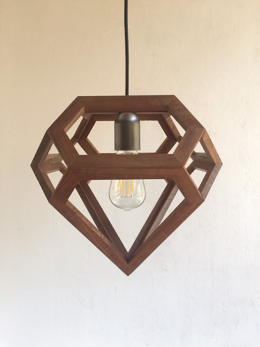 Salvaged Wood Pendant Lamp