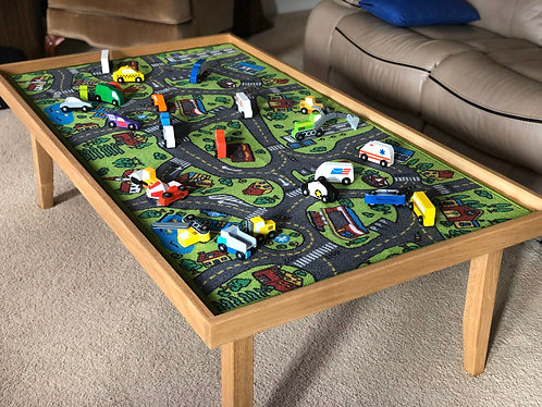 Solid Oak Children's Play Table