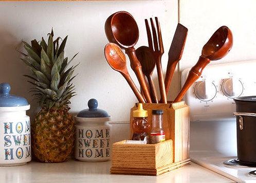 Cherry Handcrafted Kitchen Utensils