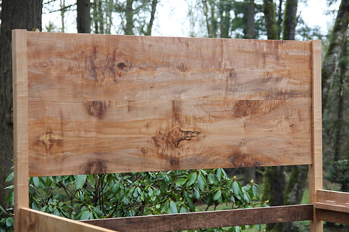 NW Maple Panel Bed