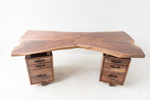 Live Edge Walnut Desk