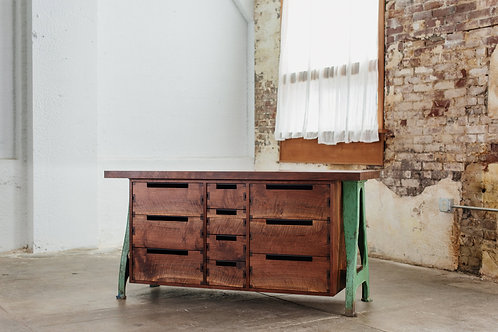 Western Walnut Dresser