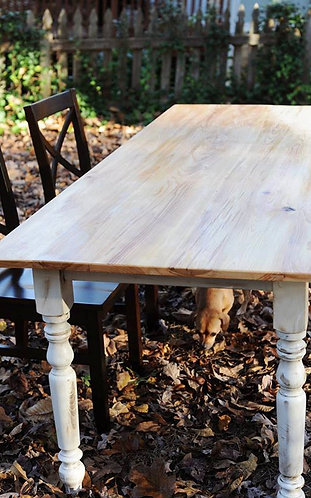 Rustic Cypress Dining Table