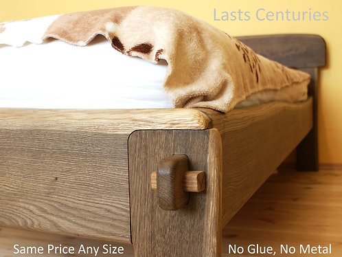 Original Live Edge Bed - Any Size