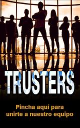 Cartel para registrarse en Trust Investing.