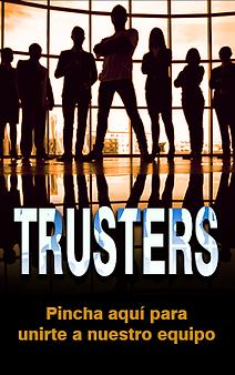 Cartel desde donde podrás registrarte como afiliado de Trust Investing.