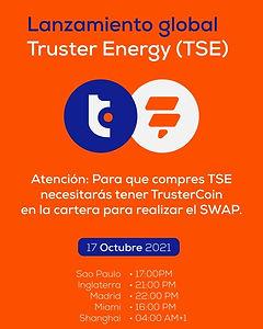 Lanzamiento de Trust Energy
