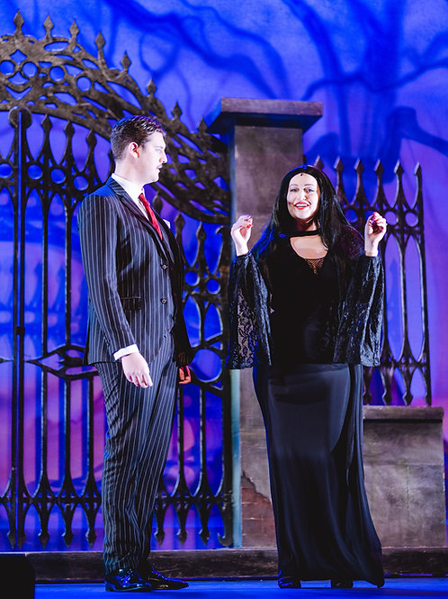 Addams Family Dress Rehearsal Pictures