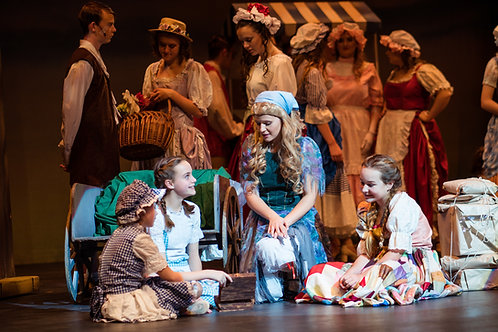 Cinderella Dress Rehearsal Pictures