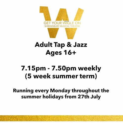 Adult Tap & Jazz
