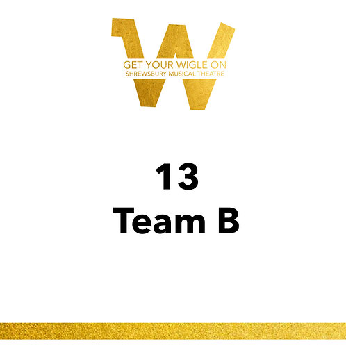 13 Team B 2021