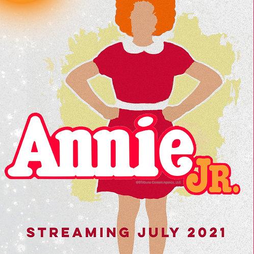 ANNIE JR DVD
