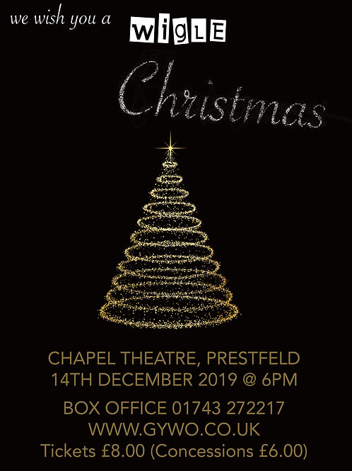 Christmas Concert Ticket