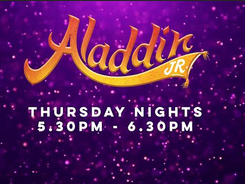 Aladdin Thursday Session