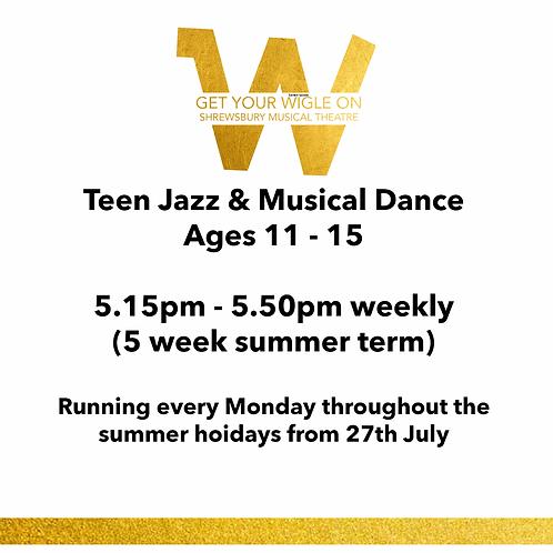 Teen Jazz & Musical Dance