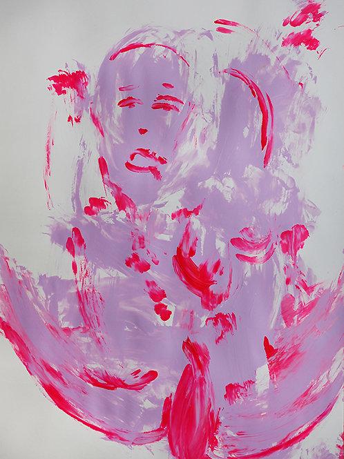 Hula hoop rosa