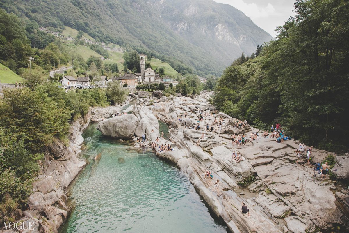 Summer in Verzasca
