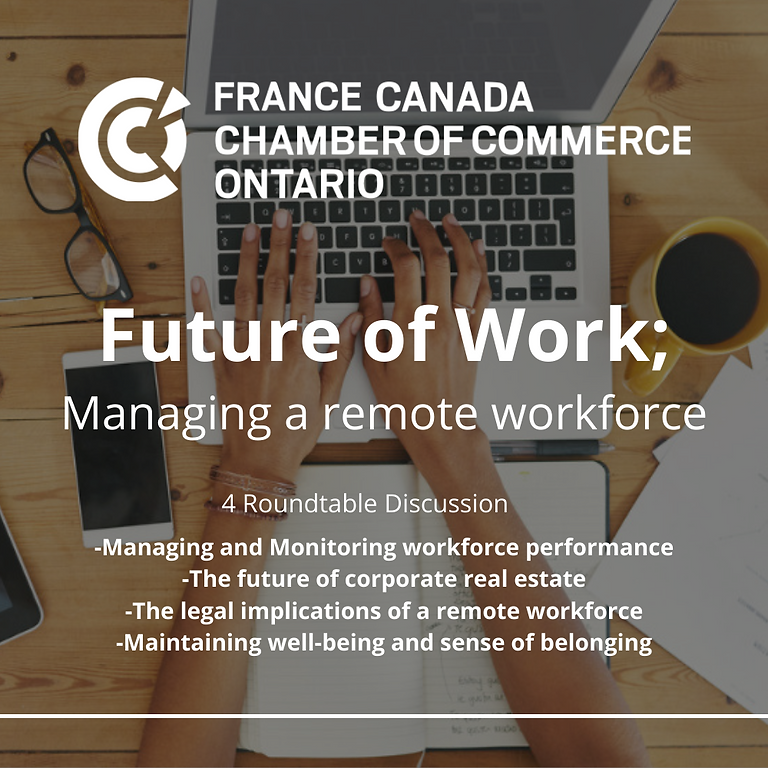 Future of Work; Managing a remote workforce
