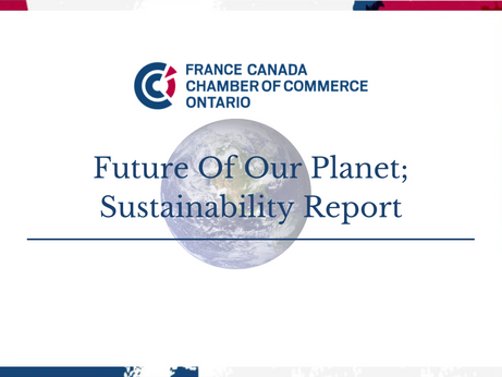 Future of Our Planet; Sustainability Report.