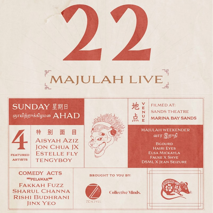 Majulah Live!