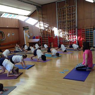 Yoga in Schools Nic Moy