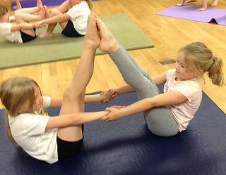 Yoga in School Nic Moy