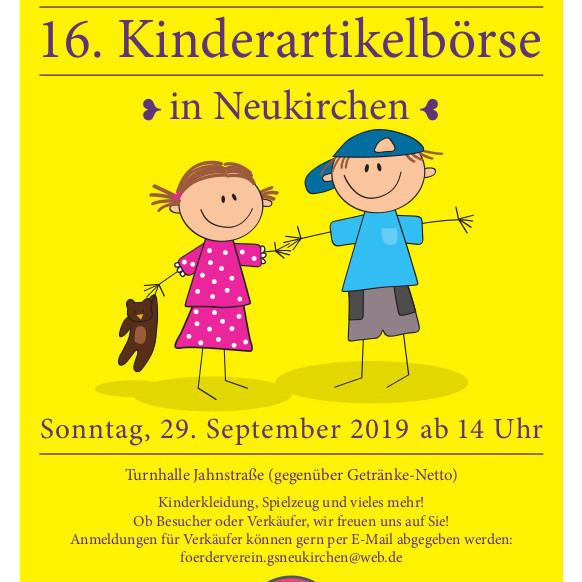 16. Kinderartikelbörse