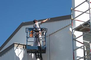 Commercial Exterior repaint