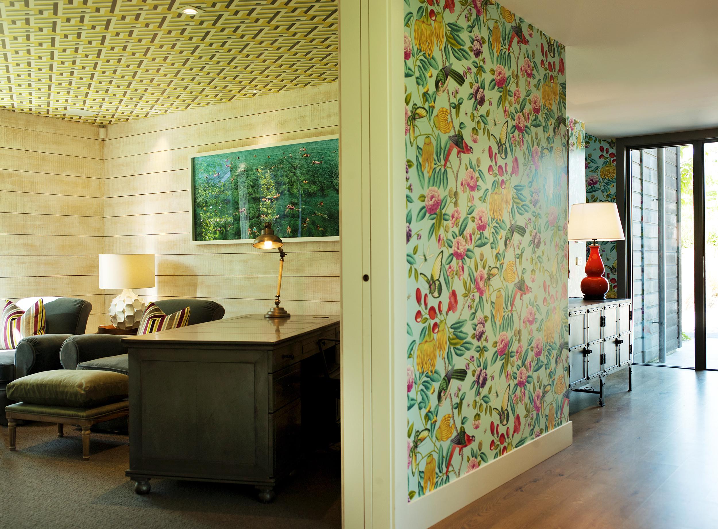 Wallpapering Interior