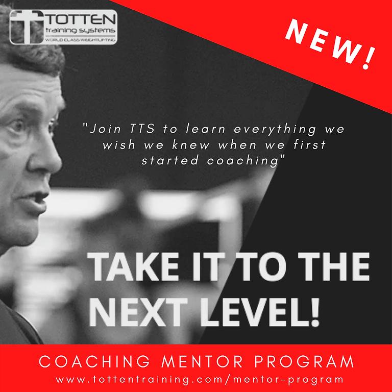 February 2021 - TTS Coaching Mentor Program