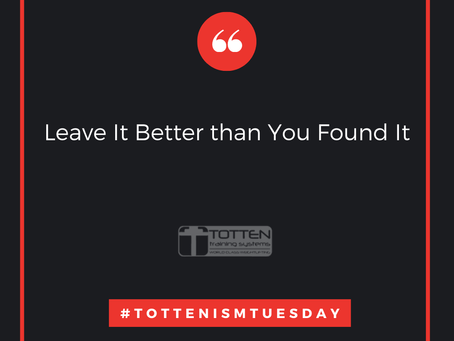 Tottenism Tuesday: Leave It Better Than You Found It