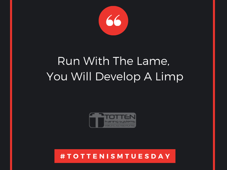 Tottenism Tuesday: Run With the Lame