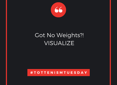 Tottenism Tuesday: No Weights?
