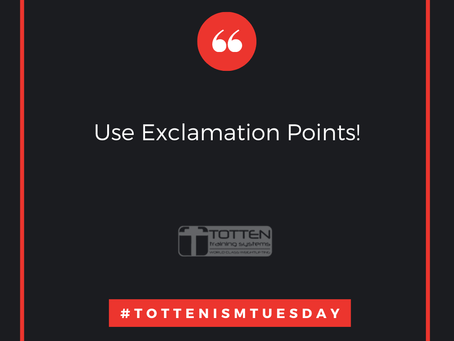 Tottenism Tuesday: Use Exclamation Points