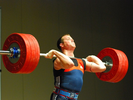 POWER CLEANS FOR THE STRENGTH ATHLETE