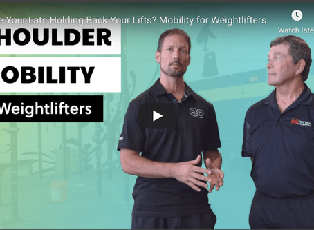 Are Your Lats Holding Back Your Lifts? Mobility for Weightlifters