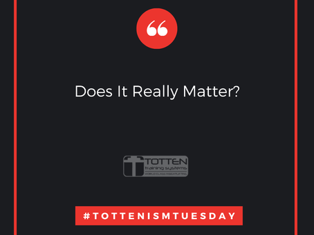 Tottenism Tuesday: Does It Really Matter?