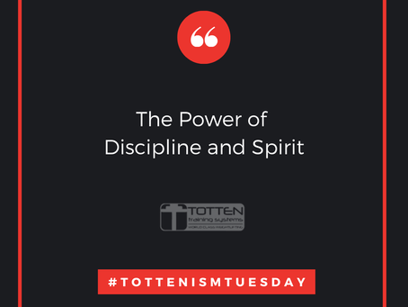 Tottenism Tuesday: The Power of Discipline and Spirit