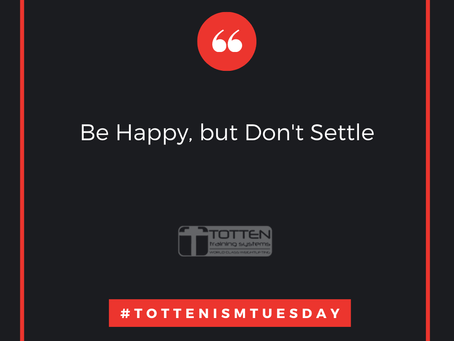 Tottenism Tuesday: Be Happy, But Don't Settle