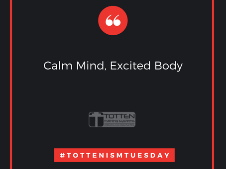 Tottenism Tuesday: Calm Mind, Excited Body