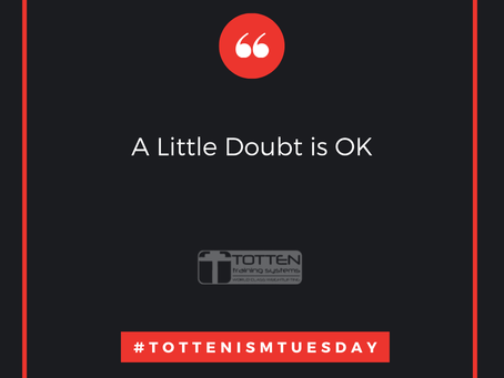 Tottenism Tuesday: A Little Doubt is OK