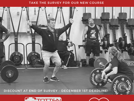 Survey: Mobility for Weightlifters Course